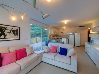 Villa Bleu Matisse: Living room & kitchen