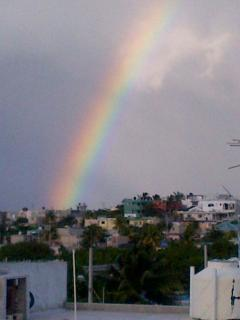 And even a rainbow!