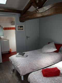 Bedroom and en suite