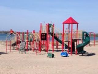 Childrens Playground at the Beach