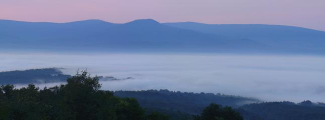 Enjoy the mist in the valley during sunrise.