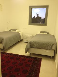 Bedroom 2 - 2 twin/ single Aeroflex mattress