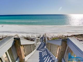 Direct Gulf Views~30 A~~Pool & Grill area~ Tranquility on the Beach~Sleeps 6, Seacrest Beach