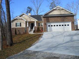 Brand new home with new cement driveway up top