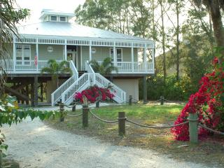 Beautiful Barrier Island Beach House with Pool, Spa and Dock - Walk 2 Beach!
