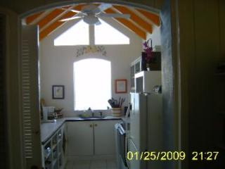 Kitchen with view of the reef