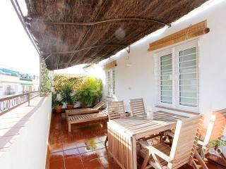 Mejías Terrace. Top-floor apartment with 2 bedrooms and terrace