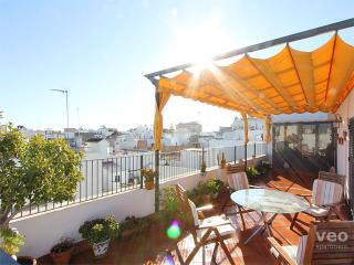 Monsalves Terrace. 2 bedrooms for 8, private terrace, Seville