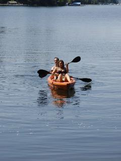 Our Kayak is included with house rental.