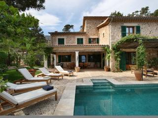 Sa Laca - Impressive villa with private pool and beautiful sea view, Deià