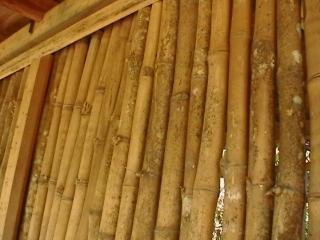 Bamboo Walls backed with Hardwood