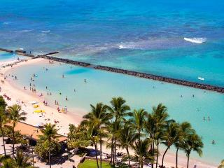 WAIKIKI WYNDHAM BEACHWALK, 2BR, WIFI, POOL, SAUNA, Honolulu
