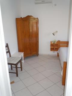 Bedroom w cupboard, good space