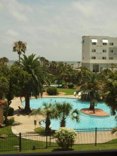 One of the 3 pools at the complex