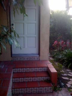 Entrance to the Guesthouse