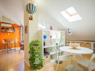 Designer Attic With Rooftop Terrace, Madrid