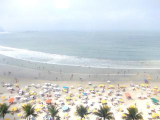 Apartamento Guarujá frente total praia Astúrias., Guaruja