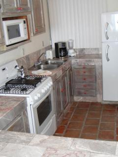 Fully appointed kitchen. Dine in or walk to the many fine restaurants in Old Town PV