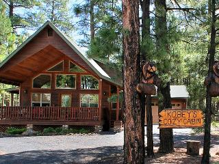 COMFY COZY MOUNTAIN CABIN - RELAX IN THE PINES!, Pinetop-Lakeside