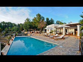 Ibicencan villa, location described by 2 books, Ibiza
