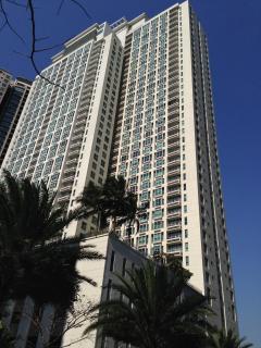 The Manansala Tower facade