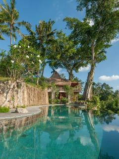Joglo Suite from Infinity Pool @ Hartland Estate