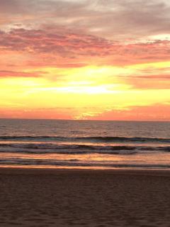 Sunset at Playa Royale