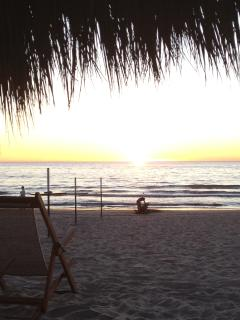 Tipical day at Playa Royale