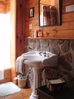 Bear's Den attached private bathroom