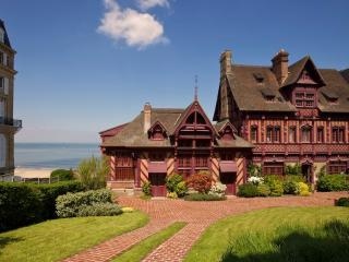 Sublime Villa de Norman sur la plage de Deauville