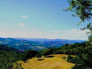 Le Marche Region Blick vom Mirador