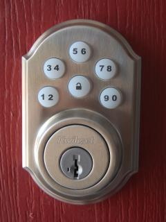 A keyless entry system makes it easy to get in and not worry about loosing your keys