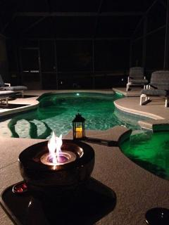 After a Busy Day @ the Parks come home to Relax in the  Beautiful Pool or Spa.
