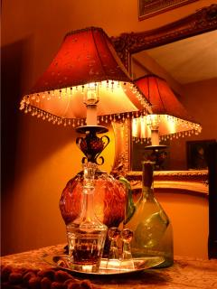 Amenities include free sherry served in each suite for guest's night cap!