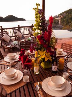 Oceanside Dining Area