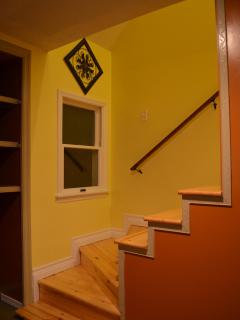 Unit 2 Stairs going to upper level