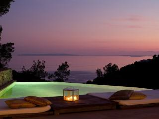 Luxury villa in Ibiza with amazing sea views, Roca Llisa