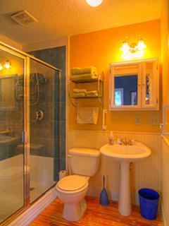 2nd bath/shower