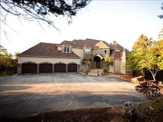 Front of the estate and four car garage
