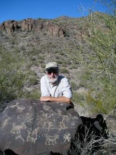 nearby petroglyphs