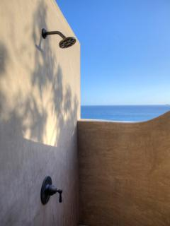 One of our Outdoor Showers
