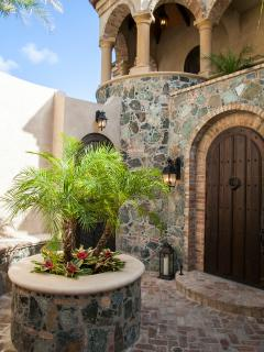Front Entry Courtyard