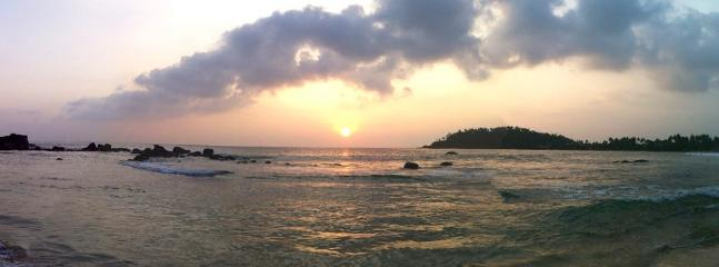 Sunset at Mirissa Beach