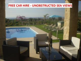 HUGE WOW Factor. 3 bed all en-suite. Pool FREE CAR, Pafos