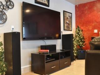 Large screen TV/ DVD player