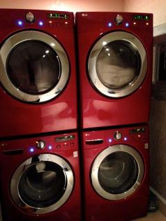 In house washer and dryer
