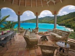 Glorious 4 Bedroom Waterfront Villa in Peter Bay, St. John