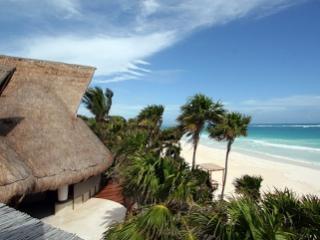 Beautiful 4 Bedroom Beachfront Villa in Quintana Roo, Tulum