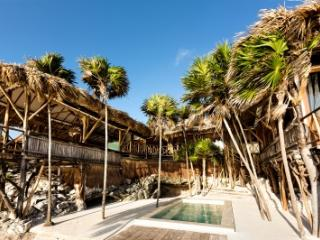 Fabulous 2 Bedroom Beach House with Private Terrace in Tulum
