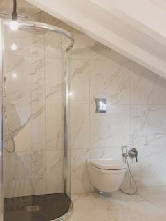 Modern ensuite bathrooms
